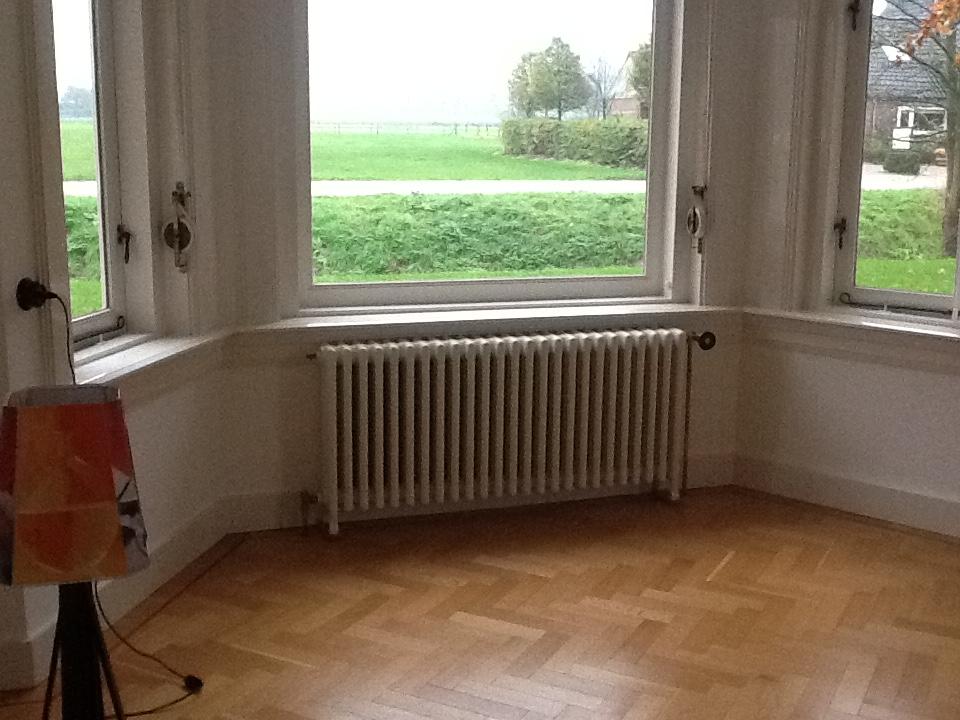 geplaatste gietijzeren radiator 126 b