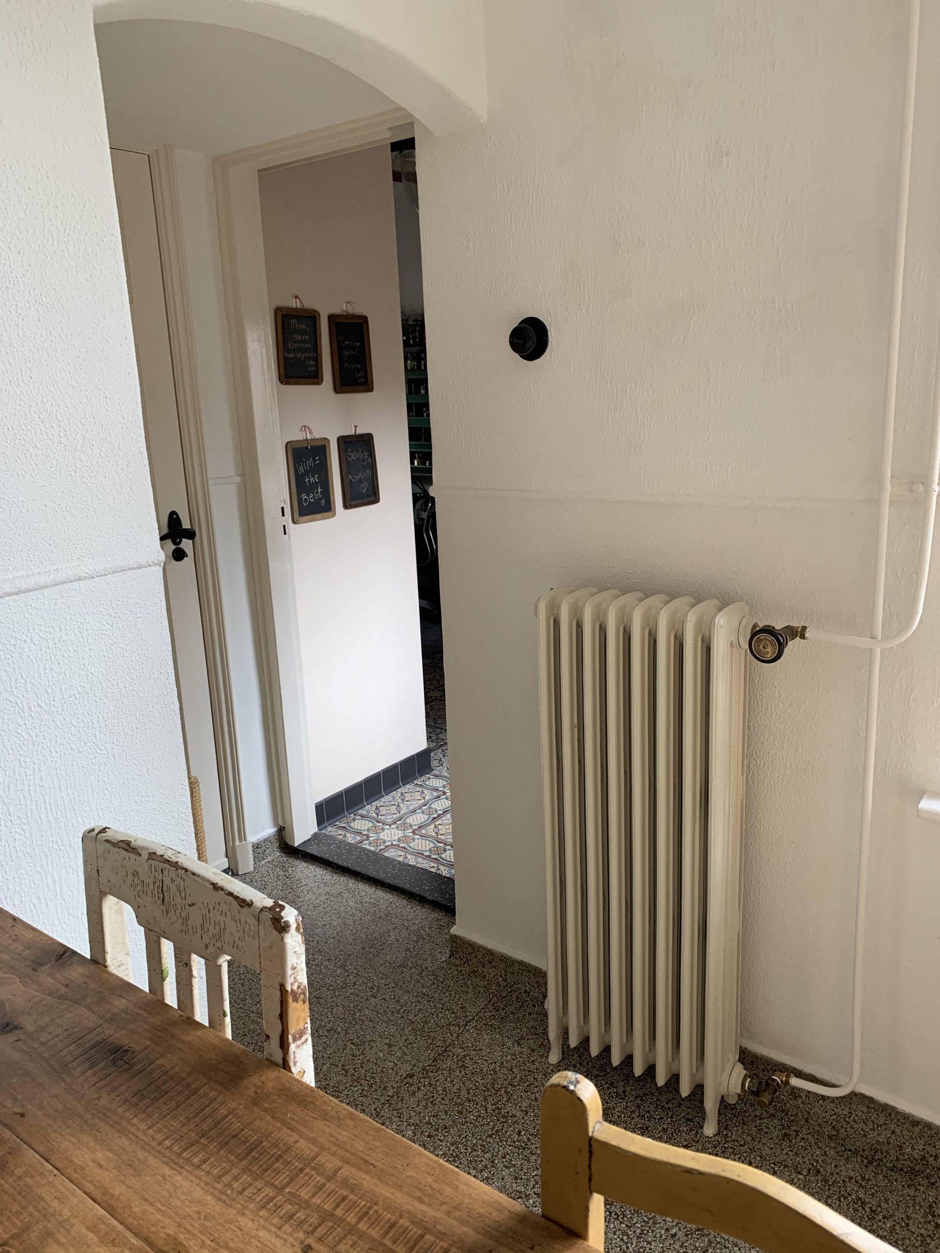 geplaatste gietijzeren radiator 127 a