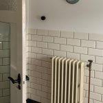 geplaatste gietijzeren radiator 127 c