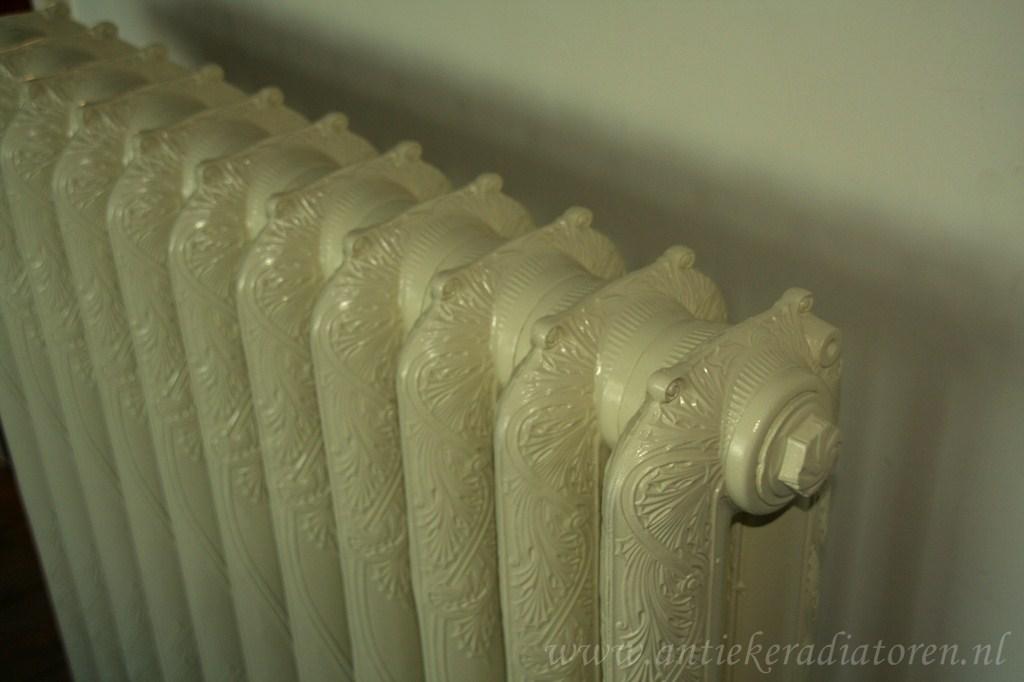 geplaatste gietijzeren radiator 13