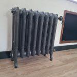 geplaatste gietijzeren radiator 132 a