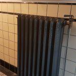 geplaatste gietijzeren radiator 133