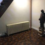 geplaatste gietijzeren radiator 137