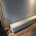 geplaatste gietijzeren radiator 137 a