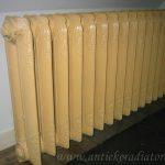 geplaatste gietijzeren radiator 25