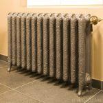 geplaatste gietijzeren radiator 29