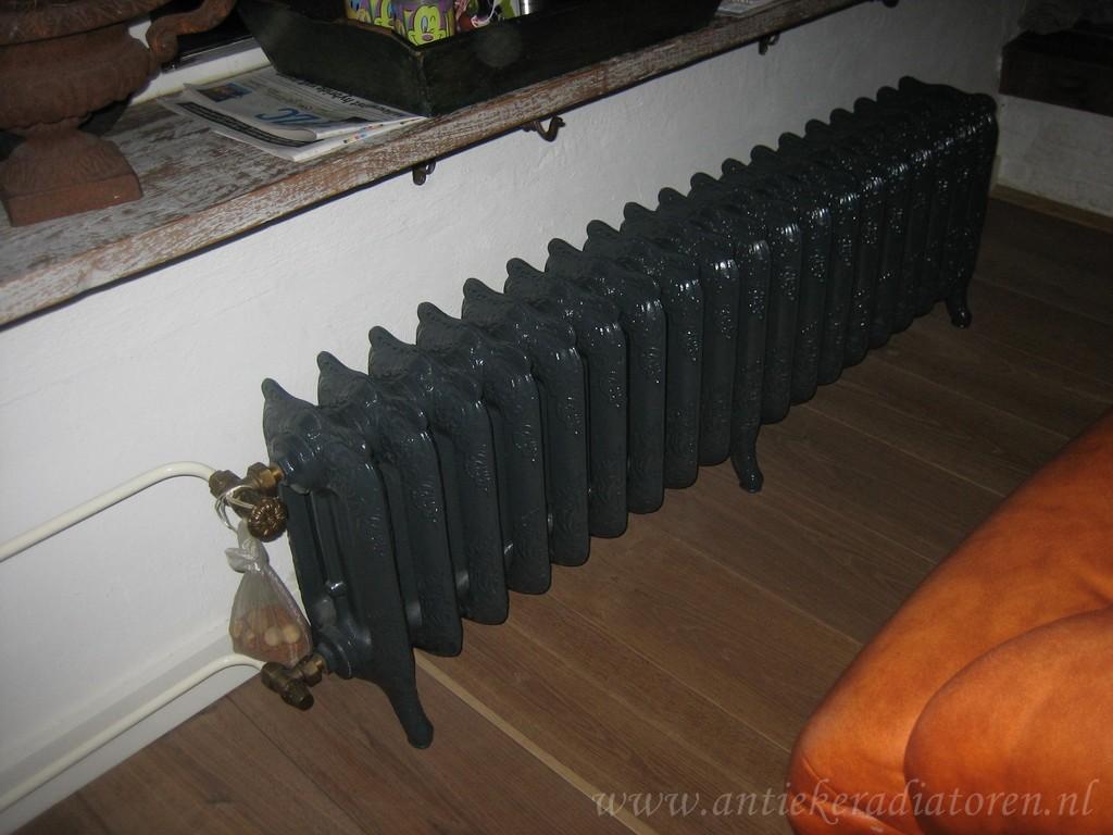 geplaatste gietijzeren radiator 30