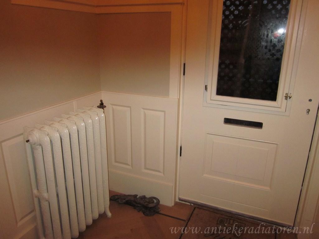 geplaatste gietijzeren radiator 36