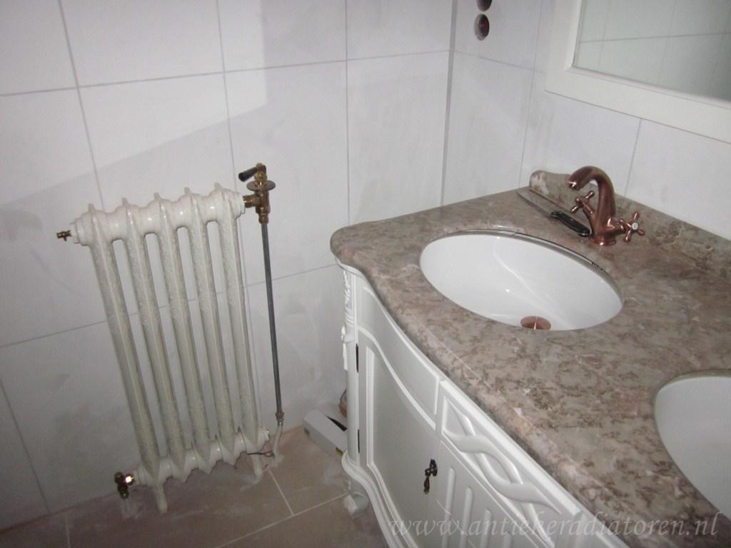 geplaatste gietijzeren radiator 37