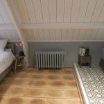 geplaatste gietijzeren radiator 38