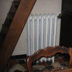 geplaatste gietijzeren radiator 44