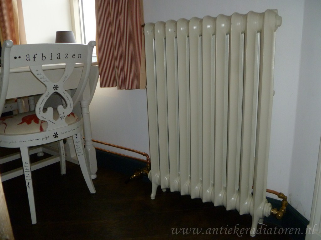geplaatste gietijzeren radiator 47 a