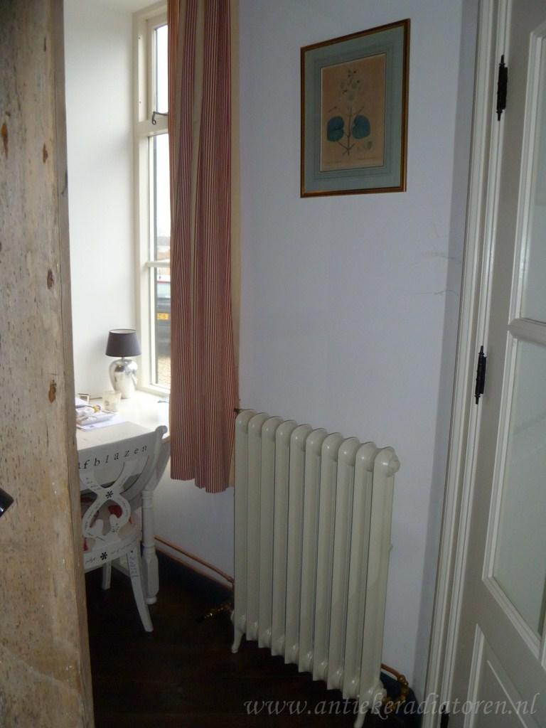 geplaatste gietijzeren radiator 47