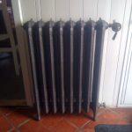 geplaatste gietijzeren radiator 52
