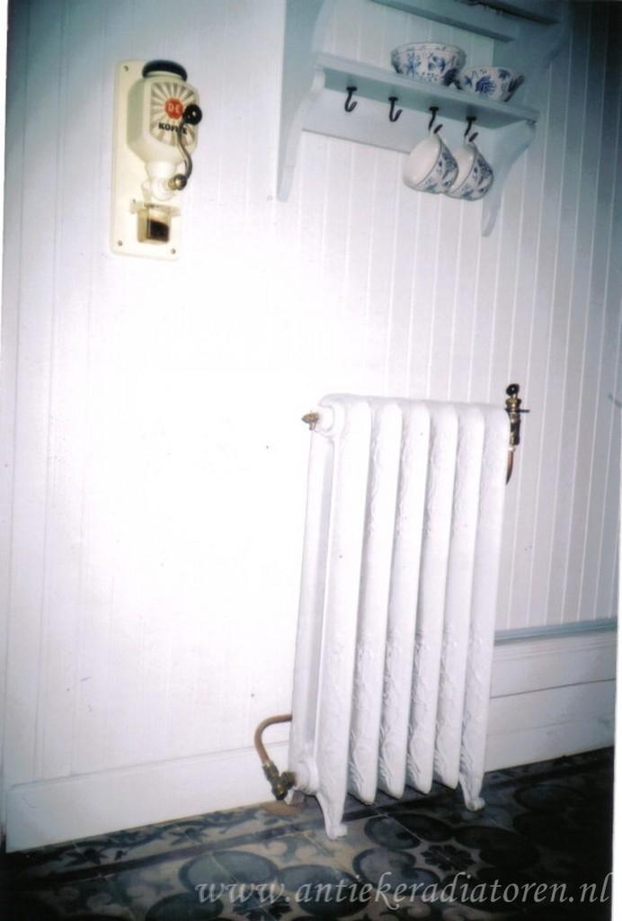 geplaatste gietijzeren radiator 57