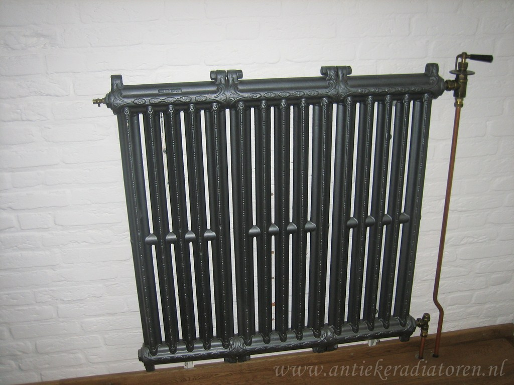 geplaatste gietijzeren radiator 59 a