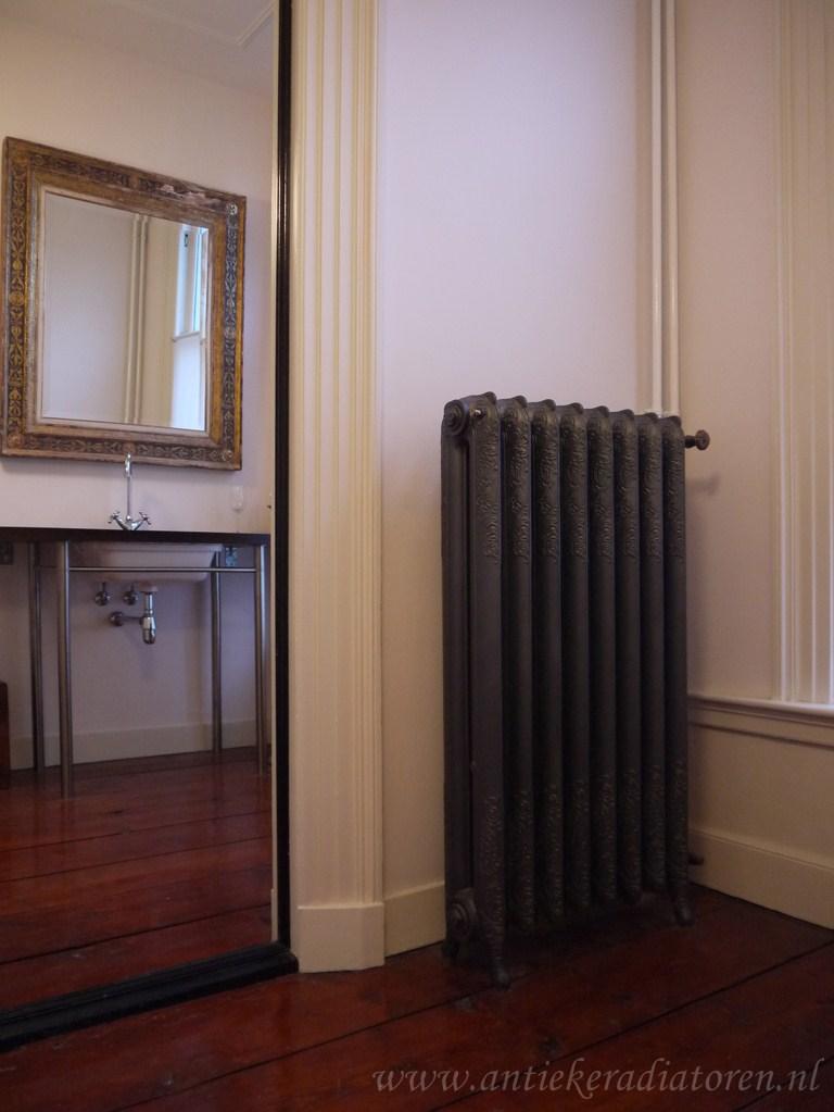 geplaatste gietijzeren radiator 6