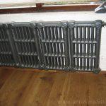 geplaatste gietijzeren radiator 60