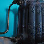 geplaatste gietijzeren radiator 68