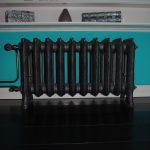 geplaatste gietijzeren radiator 68 a