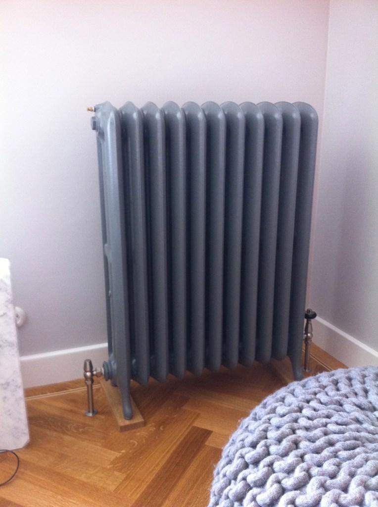 geplaatste gietijzeren radiator 72