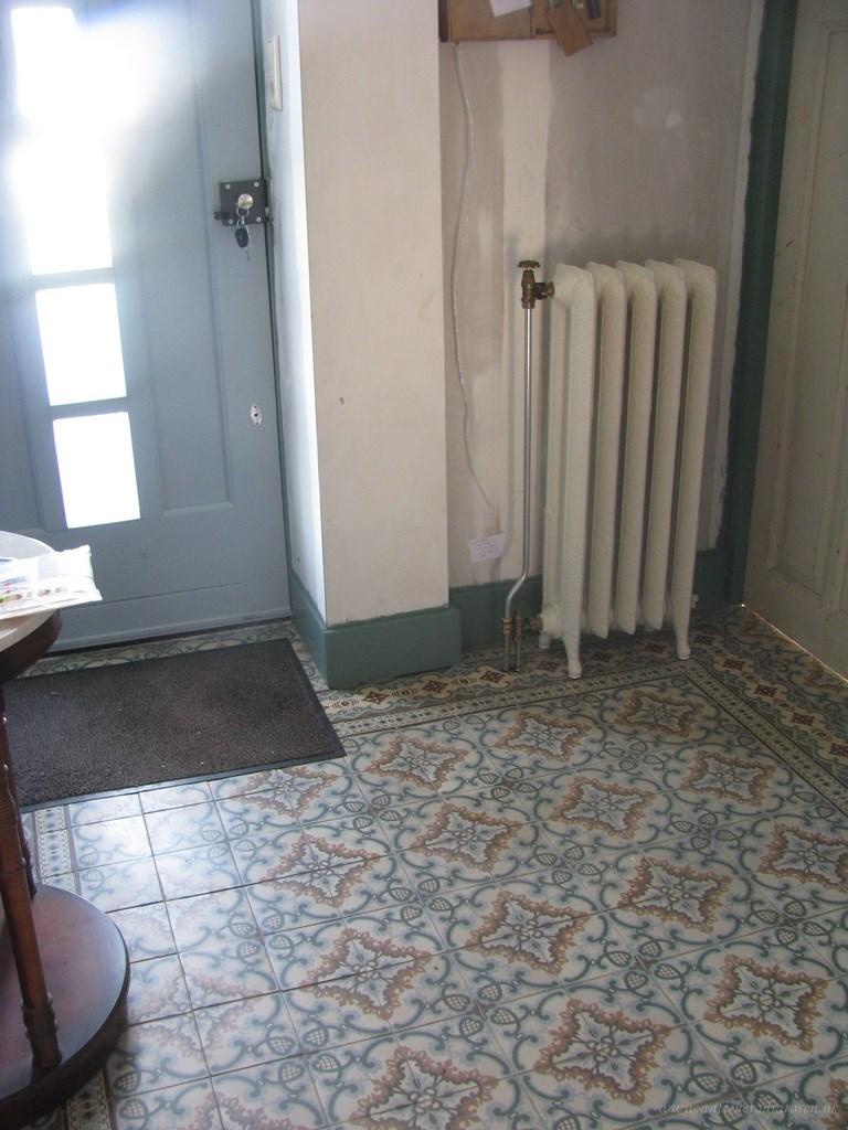 geplaatste gietijzeren radiator 77 a