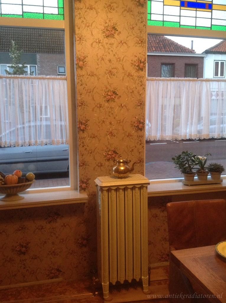 geplaatste gietijzeren radiator 78