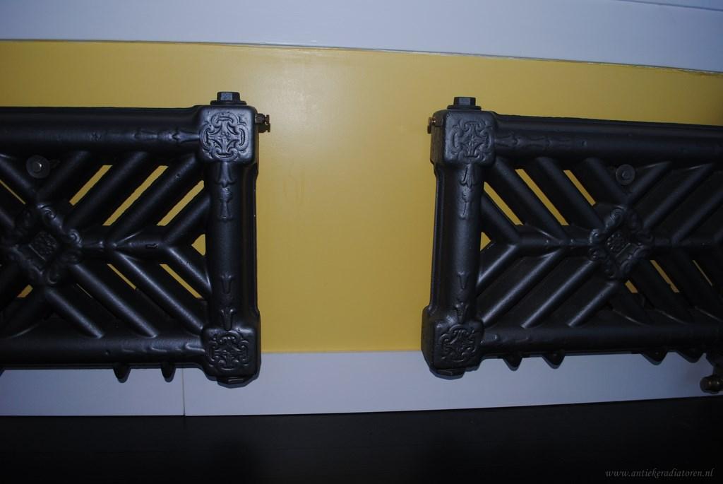 geplaatste gietijzeren radiator 79 c
