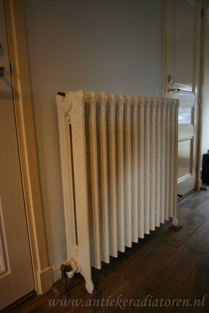 geplaatste gietijzeren radiator 91 a