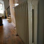 geplaatste gietijzeren radiator 91 c