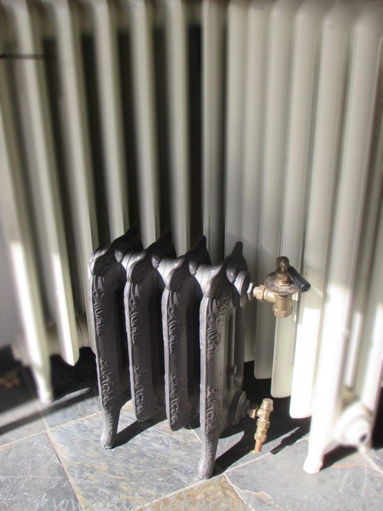 nieuwe rococo radiator 47 hoog