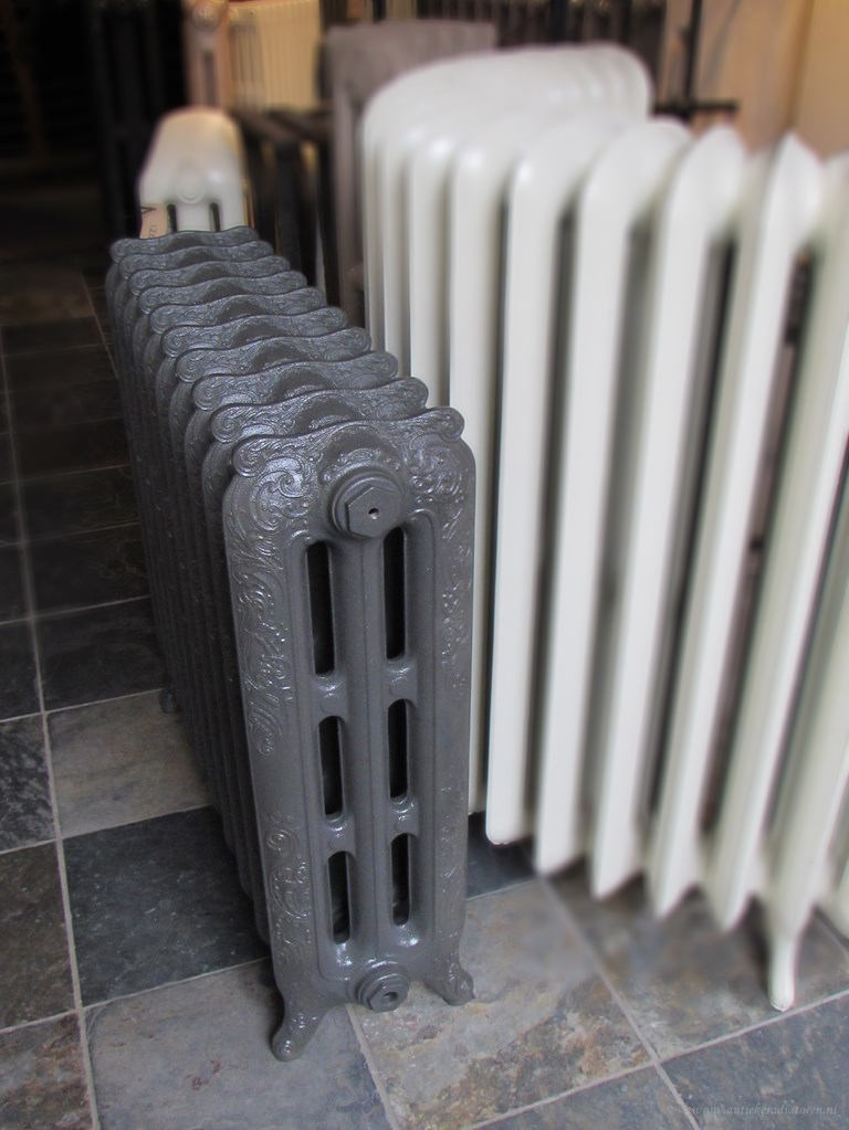 nieuwe rococo radiator 76,5 hoog