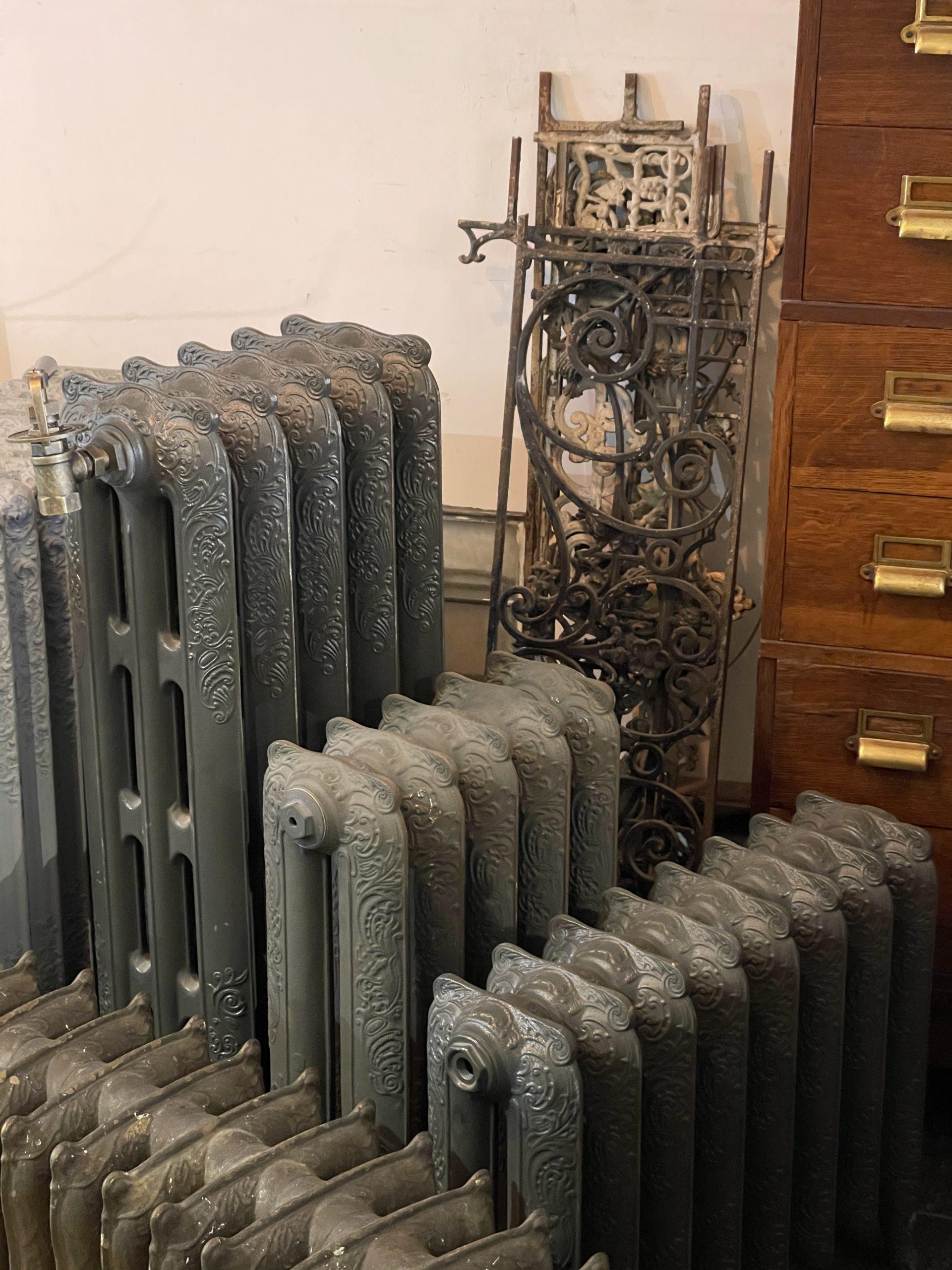 nieuwe rococo radiatoren