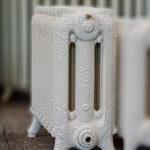 oude bewerkte radiator 210 b