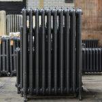 oude bewerkte radiator 12