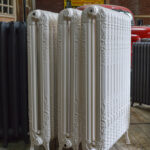 oude bewerkte radiator 285